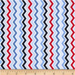 Beach Retreat Chevron Multi
