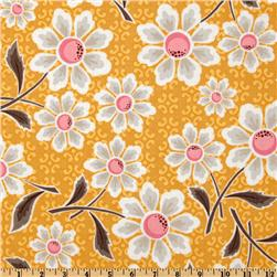 Riley Blake Daisy Cottage Large Floral Daisy Yellow