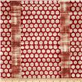 Studio Stash Circle Stripe Red