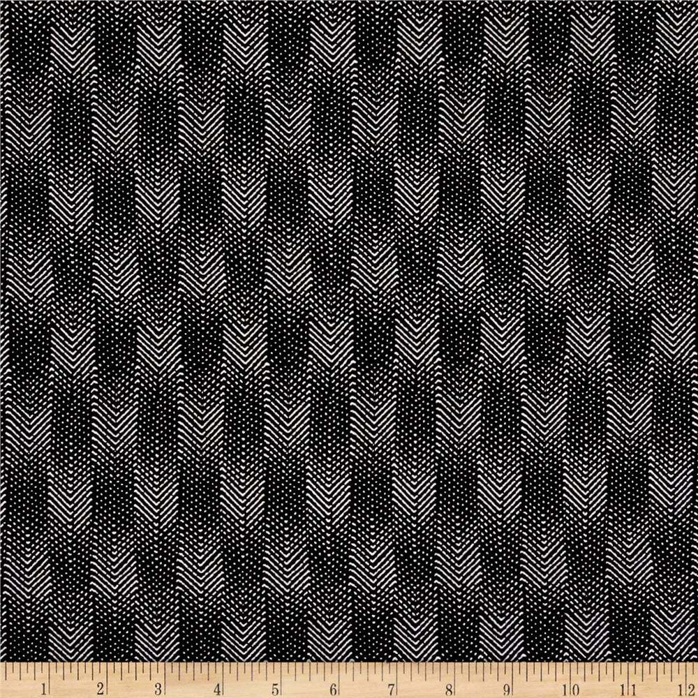 Meadow Storm Chevron Black