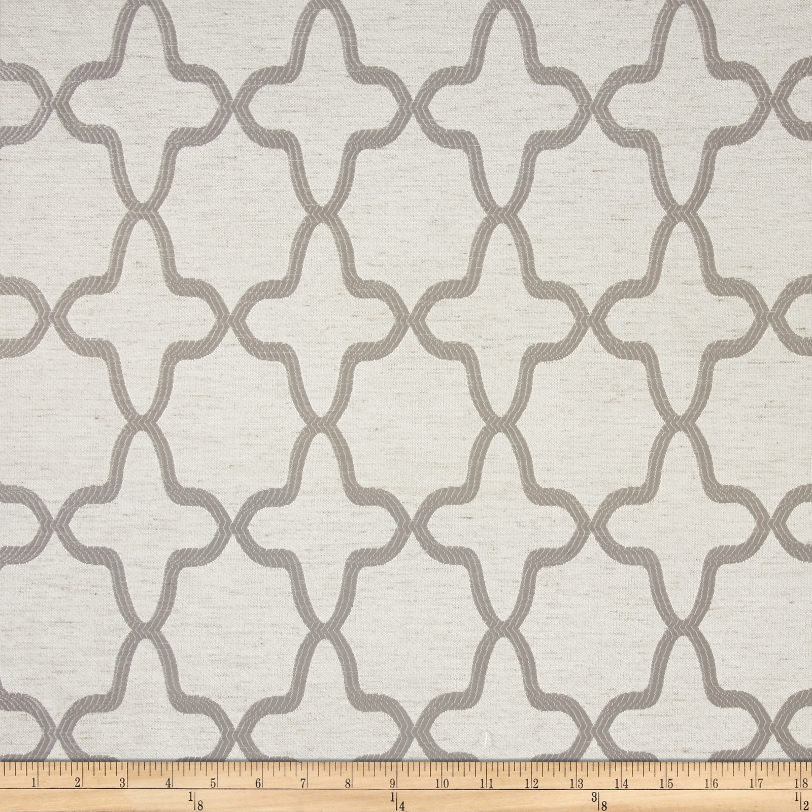 Eroica Manchester Jacquard Silver Fabric by Eroica in USA