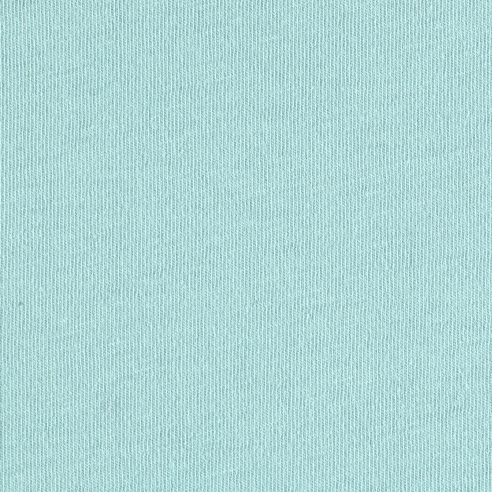 Cotton Jersey Knit Mint Blue