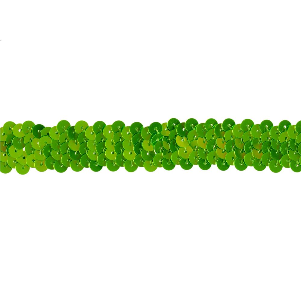 Team Spirit 3/4'' #30 Sequin Trim Lime Flo