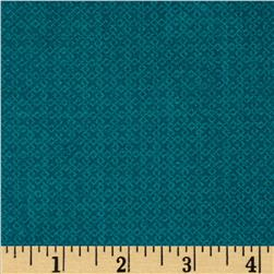 Essentials Criss-Cross Texture Teal