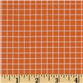 "Citrus 1/4"" Grid Orange"
