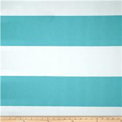 Premier Prints Cabana Stripe Coastal Blue Fabric