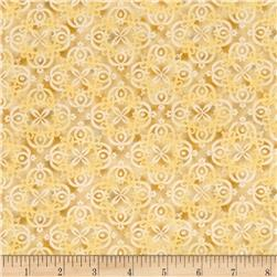 Arabesque Tonal Scroll Beige