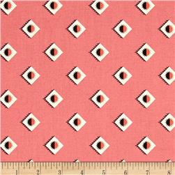 Denyse Schmidt New Bedford Rising Sun Wallpaper Sorbet
