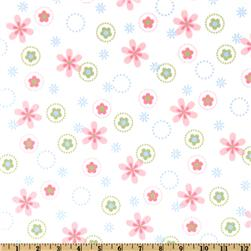 Cozy Cotton Flannel Floral Pastel