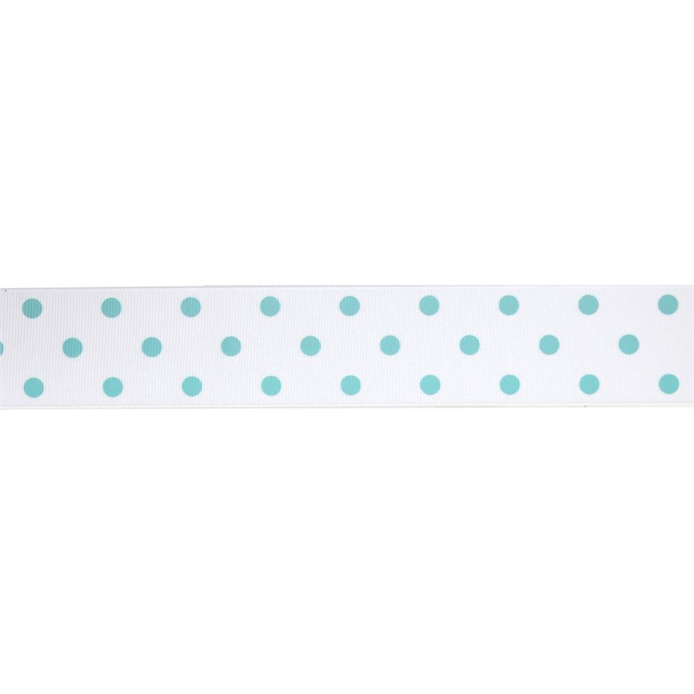 "1 1/2"" Grosgrain Rev Dot Ribbon Diamond"