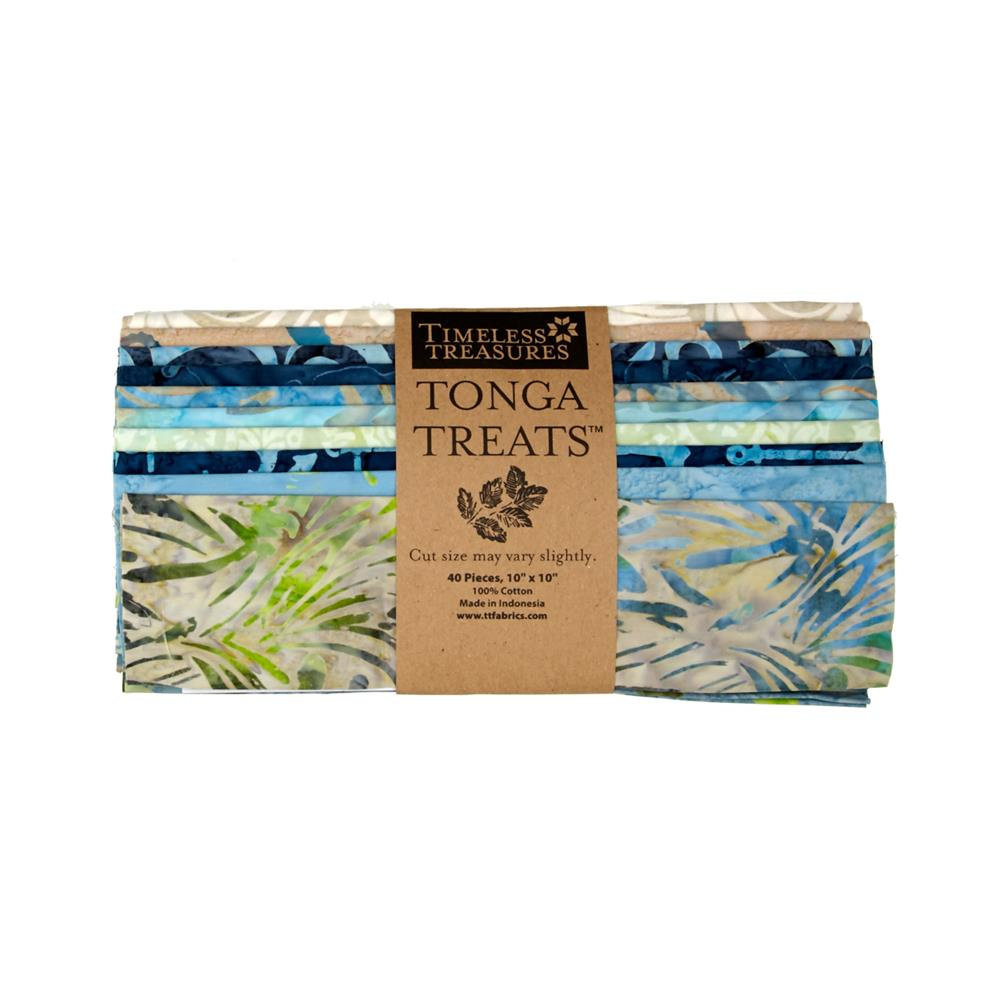 Timeless Treasures Tonga Treats Oceana 10'' Square
