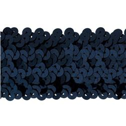 Team Spirit #68 Sequin Trim Navy