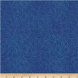 Indi-glow Uneven Shells Dark Blue