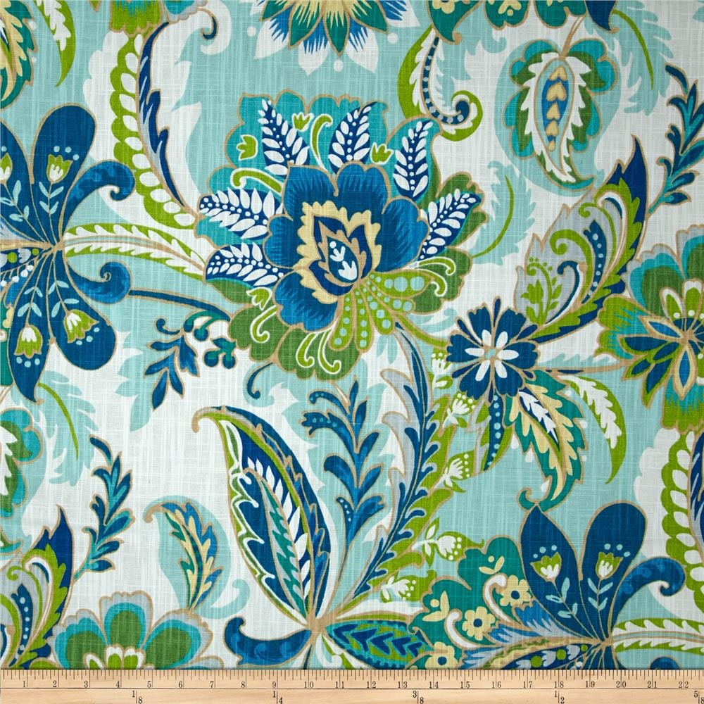 Richloom R Gallery Ayers Lagoon Discount Designer Fabric