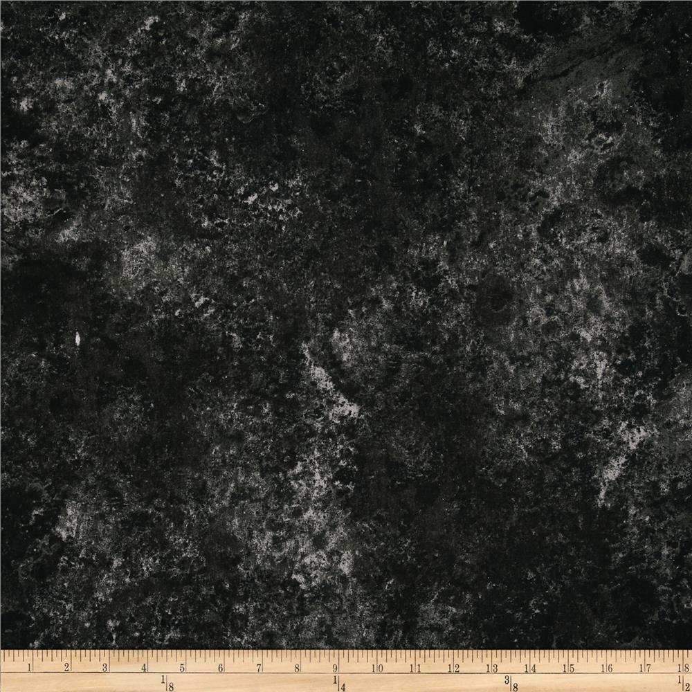 """118"""" Wide Mablehead Quilt Backing Black"""