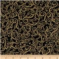 Kanvas The Music In Me Jumbled G-Clef Black/Tan