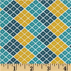 Riley Blake Indie Chic Checkers Multi