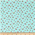 Moda Little Ruby Little Quirky Aqua