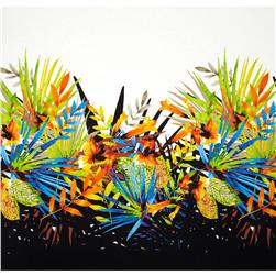 Michael Miller Tropical Madness Single Border Multi Fabric