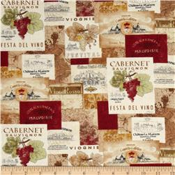 Vino Bellisimo Packed Labels Multi