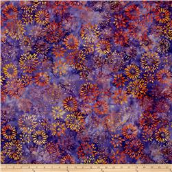 Anthology Batik Splashes Orange/Purple