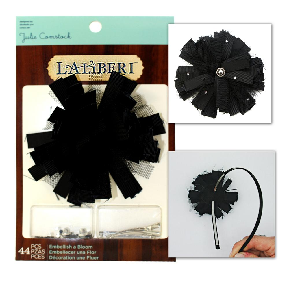Laliberi Embellish A Bloom Kit Dark Black