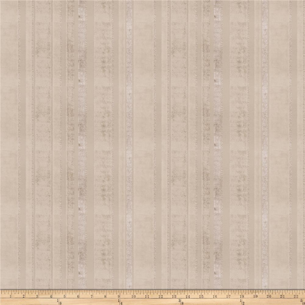 Trend 03291 Chenille Stripes Nickel