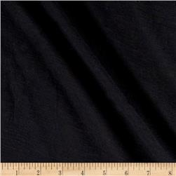 Cotton Bubble Gauze Black