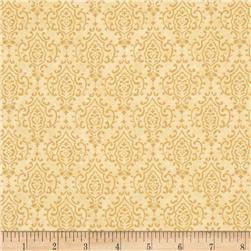 Moda Bee Inspired Monatone Damask Honey Comb