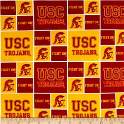Collegiate Cotton Broadcloth University of Southern California