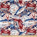 Seaside Escape Packed Motifs Cream