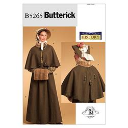 Butterick Misses' Historical Costume Pattern B5265 Size AA0