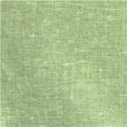 New Aged Muslin Dark Sage Fabric