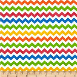 Timeless Treasures Ziggy Small Chevron Brite