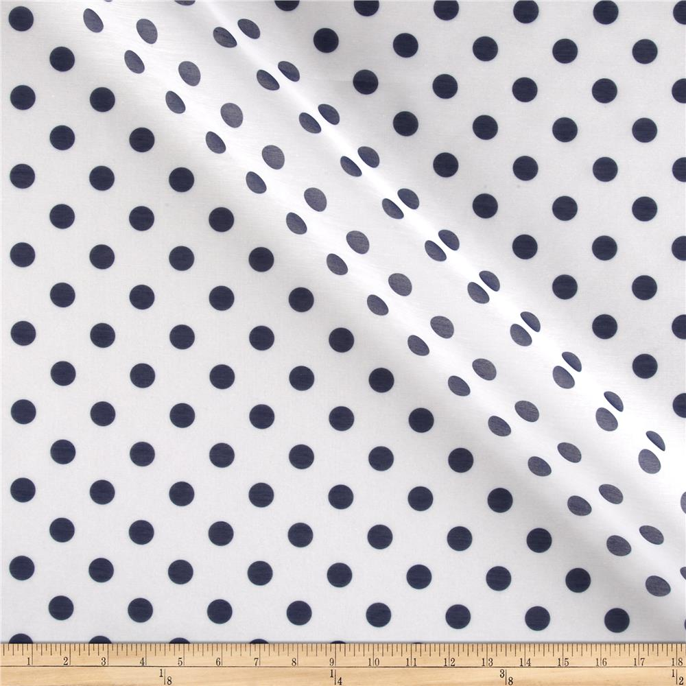 RCA Polka Dots Sheers Blue