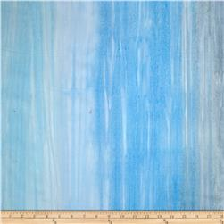 Robert Kaufman Artisan Handpaints Ombre Stripe Dusty Blue
