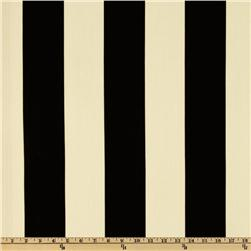 Premier Prints Indoor/Outdoor Vertical Stripe Ebony Fabric