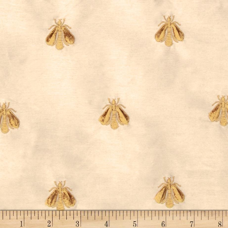 Tempo Embroidered Bumble Bee Taffeta Butter