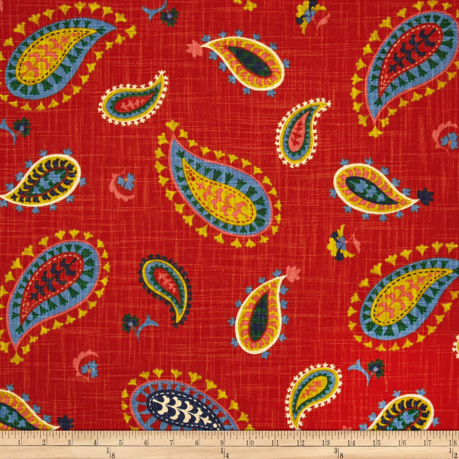 Waverly Desert Sky Slub Majestic Fabric