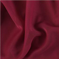 Polyester Mesh Rose Maroon