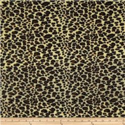 Fleece Cheetah Brown