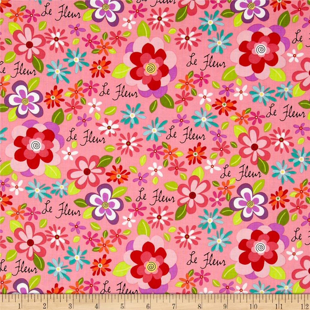 Girly Girl Floral Pink