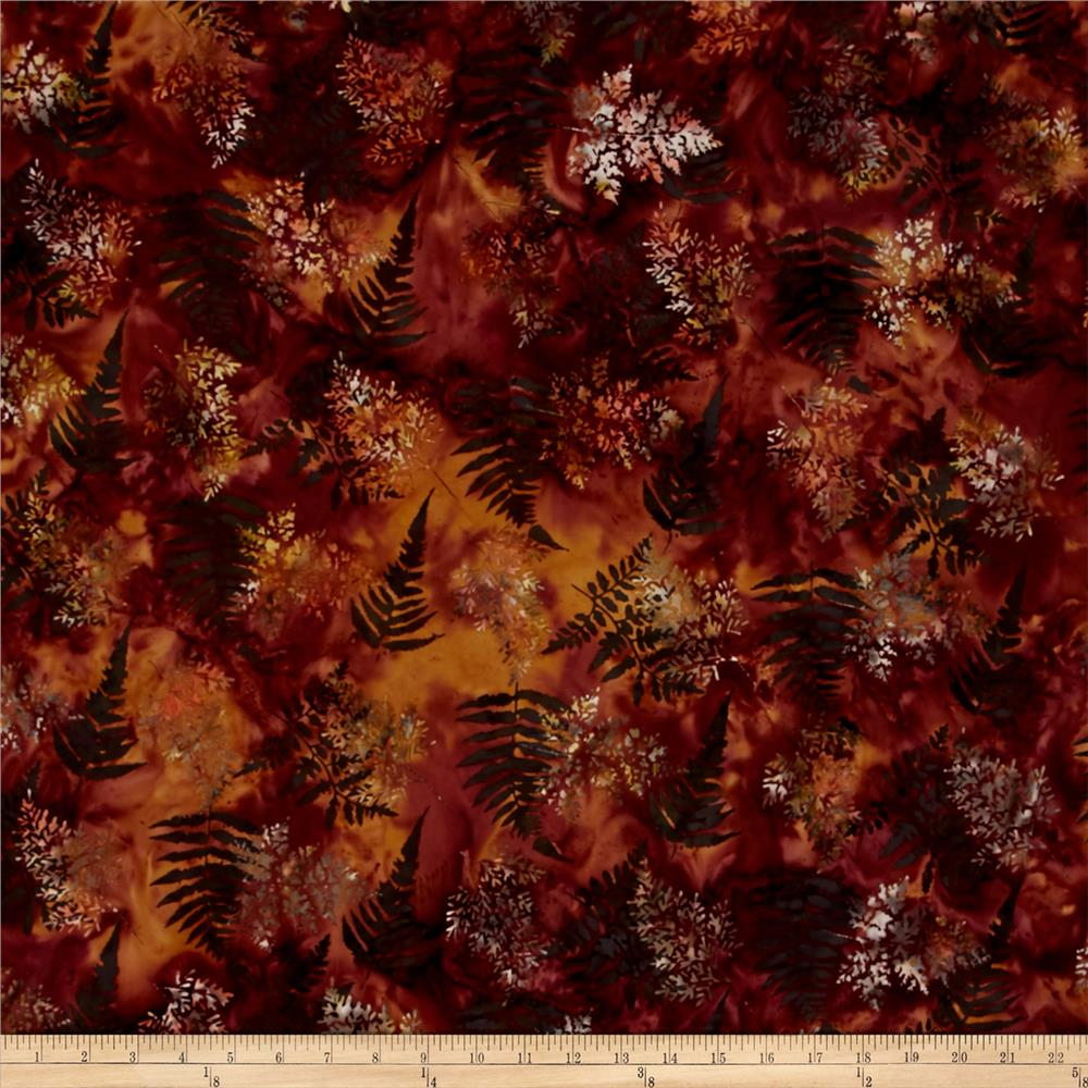 Bali Batiks Handpaints Fern Nightshade
