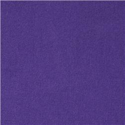 108'' Wide Flannel Grape Fabric