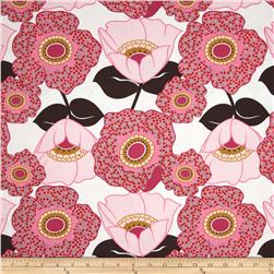 Auntie's Attic Large Floral Canvas Rose