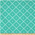 Metro Living Box Stripe Emerald