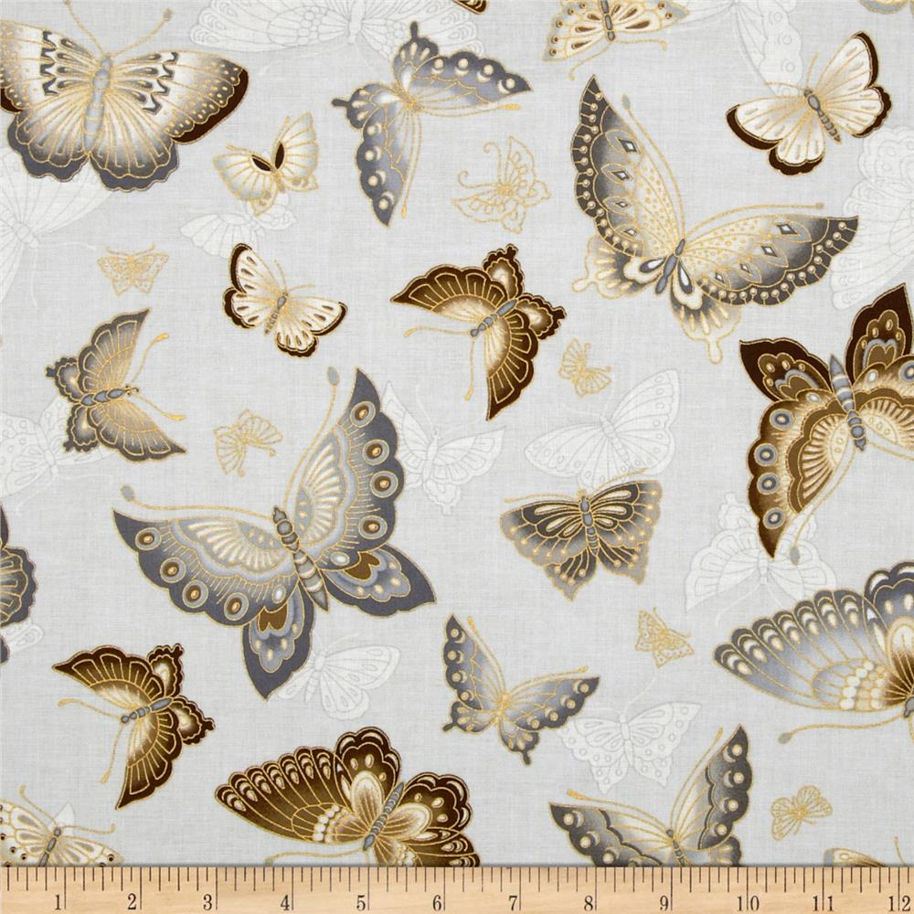Imperial Collection Metallics Butterflies Natural