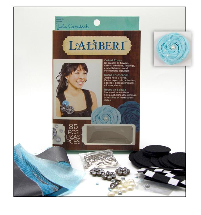 Laliberi Flower Coiled Roses Kit Dark
