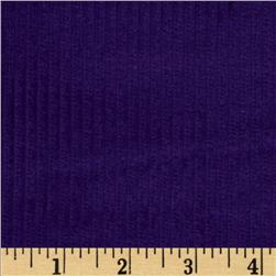Wide Wale Corduroy Deep Purple