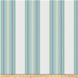 Kendall Wilkinson Indoor/Outdoor Jacquard Sunset Stripe Tropical Sky